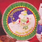 Mary Engelbreit - 'Tis theSeason Cookie Plate