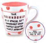 Our Name Is Mud - Your Friendship Mug