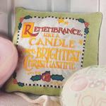 Remembrance Home Accents Pillow