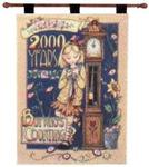 Mary Engelbreit 2000 Years But Who's Counting? Wall Hanging